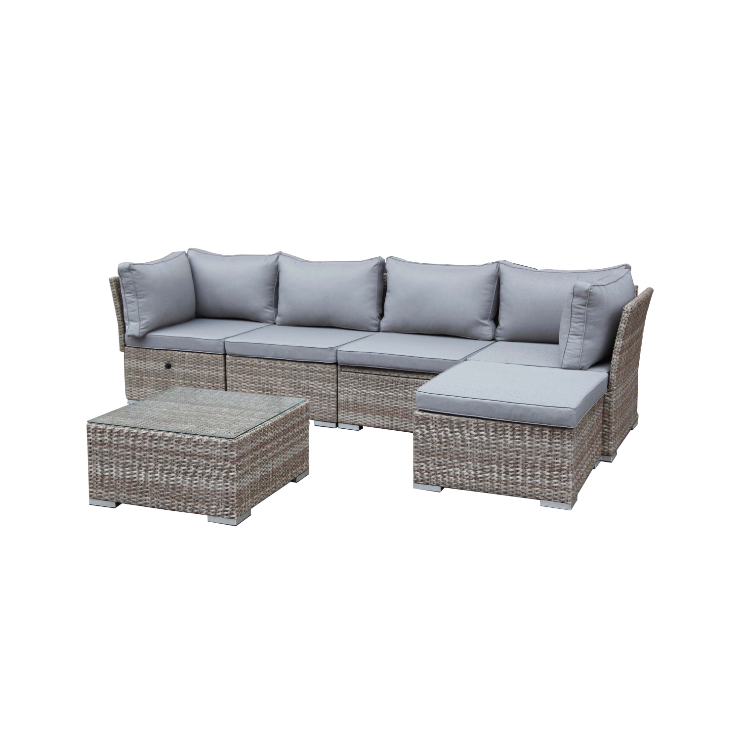 Baumarkt g llnitz online shop greemotion lounge set for Greemotion gartenmobel